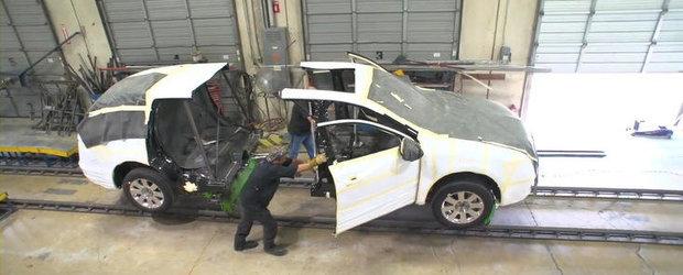 Iata cum ia nastere o limuzina Lincoln MKT Town Car