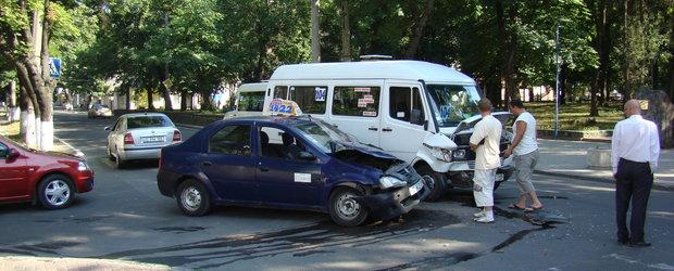 Iata intersectiile cu cele mai multe accidente din Bucuresti!