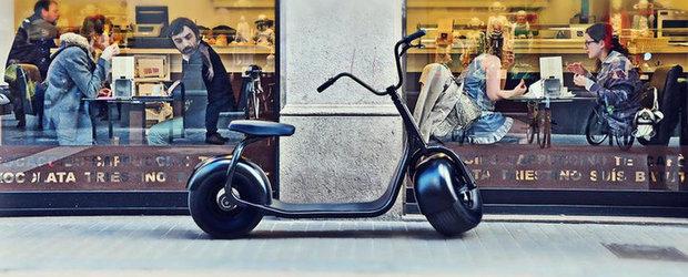 Iata scuterul electric de la Scrooser!