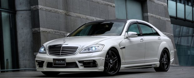 Ice Age Reloaded: Mercedes S-Class Black Bison by Wald International