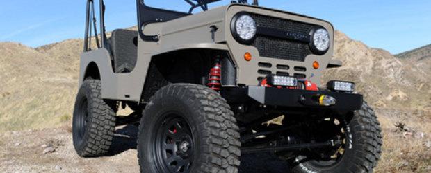 Icon CJ3B - Un jeep cu istorie
