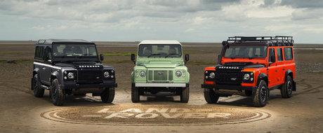 Iconicul Land Rover Defender ar putea fi inviat de un miliardar britanic