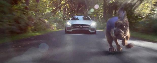 Iepurele, testoasa si AMG-ul GT: Fabula Mercedes pentru Super Bowl 2015