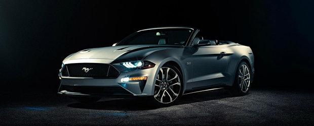 Ieri coupe-ul, astazi decapotabila. Iata primele imagini ale noului Ford Mustang Convertible!
