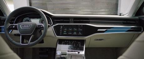 Ieri cu pozele, astazi cu filmele. Au sosit primele clipuri video ale noului Audi A6!