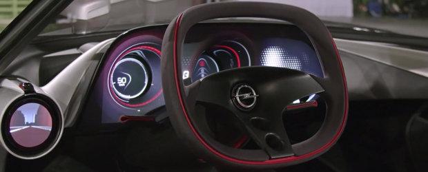 Il stii de la Geneva, insa nu ai observat niciodata detaliile acestea. Apropie-te si descopera in detaliu noul Opel GT Concept