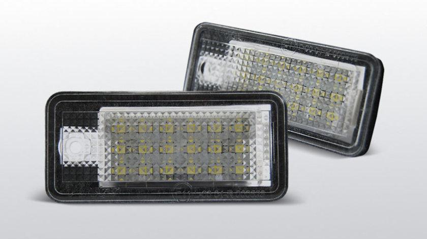 Iluminare numar Audi A3 /A4 /A6 /Q7 CANBUS cu LED