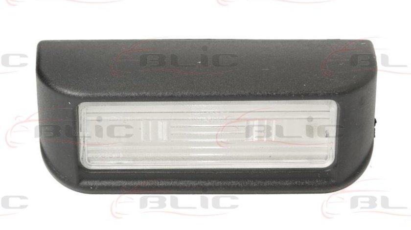 Iluminare numar de circulatie CITROËN BERLINGO nadwozie pe³ne B9 Producator BLIC 5402-009-31-900