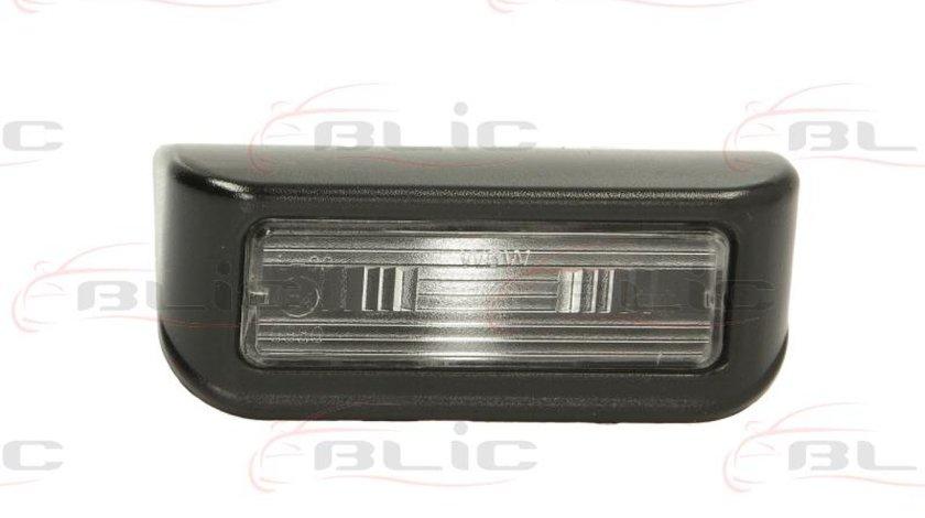 Iluminare numar de circulatie CITROËN JUMPY Producator BLIC 5402-009-31-920