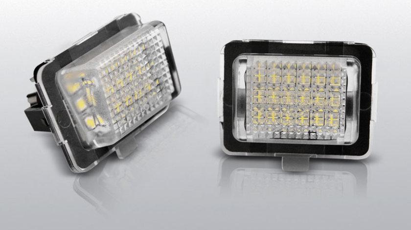 Iluminare numar MERCEDES W204 W212 C207 C216 W221 pe LED