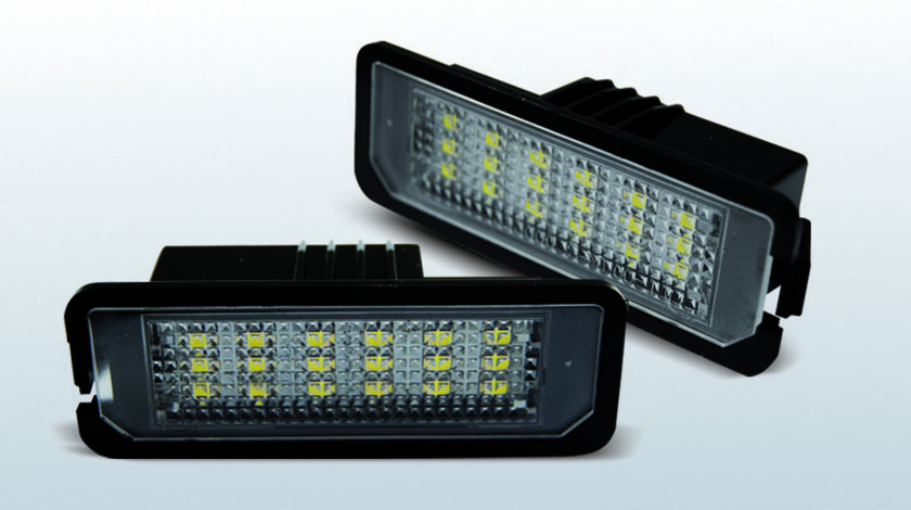 Iluminare numar VW Golf 4 / Golf 5 / Golf 6 / Golf 7 / Passat B6 pe LED