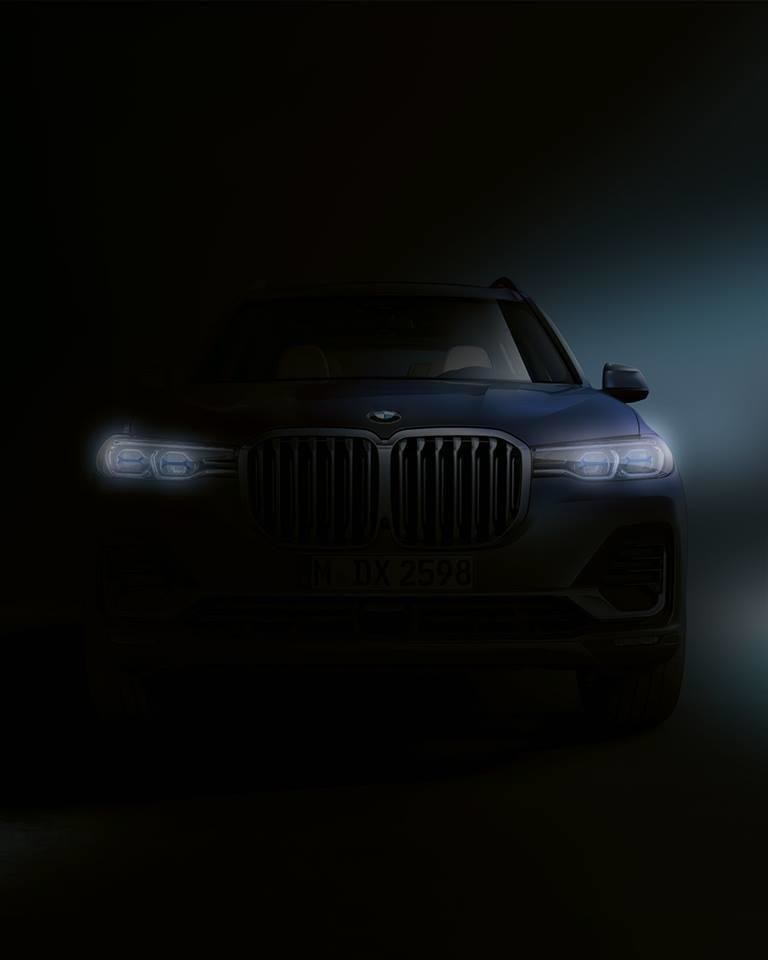 Imagine teaser BMW X7