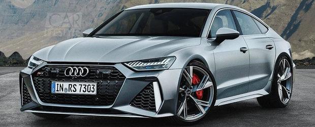 Imaginea care a bagat frica in BMW M5. Uite cum ar putea arata noul Audi RS7 Sportback!