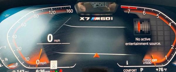 Imaginea care a pus pe jar fanii BMW. Sa pregateasca oare bavarezii un X7 cu motor V12?