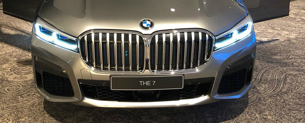 Imaginea care pune capat tuturor speculatiilor: Uite cum arata din fata noul BMW Seria 7!