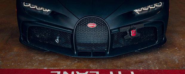 Imagini de colectie cu cea mai noua creatie Bugatti pe circuit. Super masina costa 3 milioane de euro