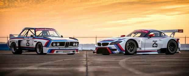 Imagini de poveste: Noul BMW Z4 GTLM intalneste legendarul IMSA 3.0 CSL
