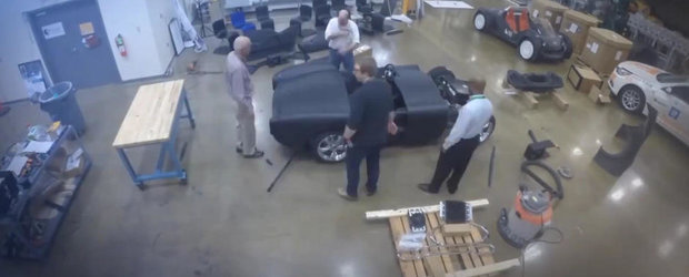 Imagini din culise: Cum a luat nastere primul Shelby Cobra... printat