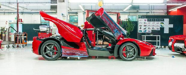 Imagini din culise: Cum ia nastere noul Ferrari LaFerrari
