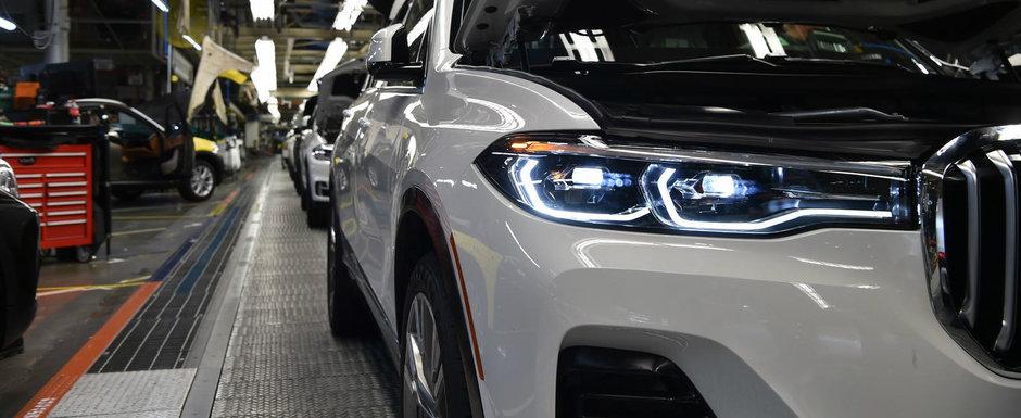 Imagini noi cu BMW-ul care a starnit un val de critici. Versiunea de serie pastreaza detaliile controversate ale conceptului
