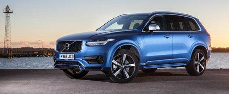 Imagini noi cu Volvo XC90 T8, SUVul de 408 CP care consuma 2.1 la suta