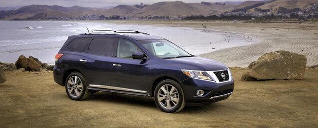 Imagini oficiale cu noul Nissan Pathfinder
