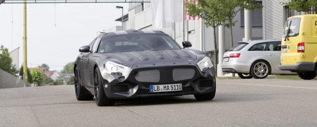 Imagini Oficiale: Mercedes ne face cunostinta cu viitorul sau SLC AMG