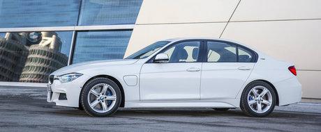 Imagini proaspete cu BMW 330e, masina care consuma 2 la suta