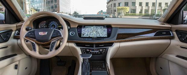 Imagini proaspete cu Cadillac CT6, concurentul american al Mercedes-ului S-Class