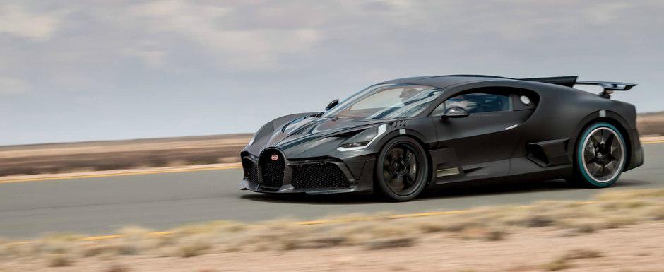 Imagini spectaculoase cu noua masina de cinci milioane de euro de la Bugatti. Numai 40 de oameni o vor putea avea