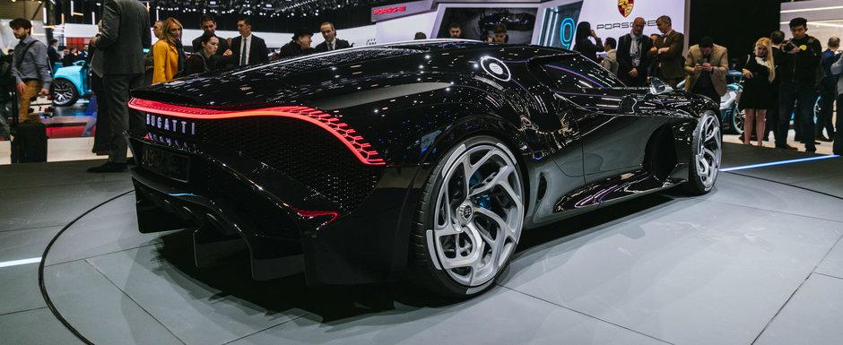 Imagini spectaculoase cu noul Bugatti La Voiture Noire, unicatul de 16.7 milioane de euro