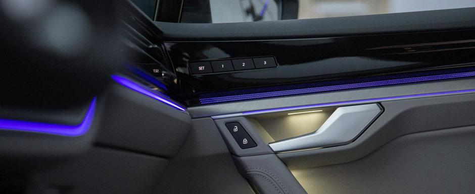 Imagini spectaculoase cu NOUL TOUAREG. Volkswagen ne arata pentru prima oara interiorul SUV-ului german