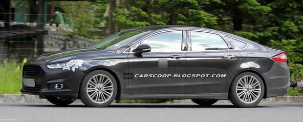 Imagini spion cu noul Ford Mondeo