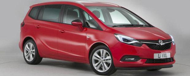 Imaginile astea o demonstreaza. Noul Opel Zafira Facelift e cel mai sexy monovolum al momentului