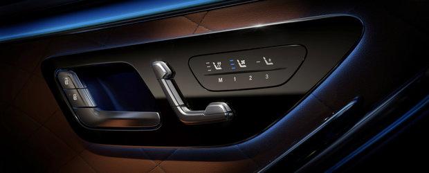 Imaginile care au bagat frica in sefii de la Audi si BMW. Mercedes publica primele fotografii oficiale de la interiorul noului S-CLASS