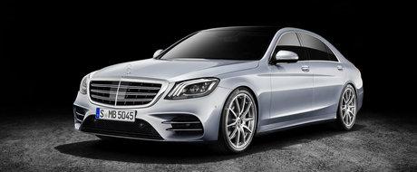 Imaginile care baga frica in Audi si BMW. Cum arata noul Mercedes S-Class FACELIFT