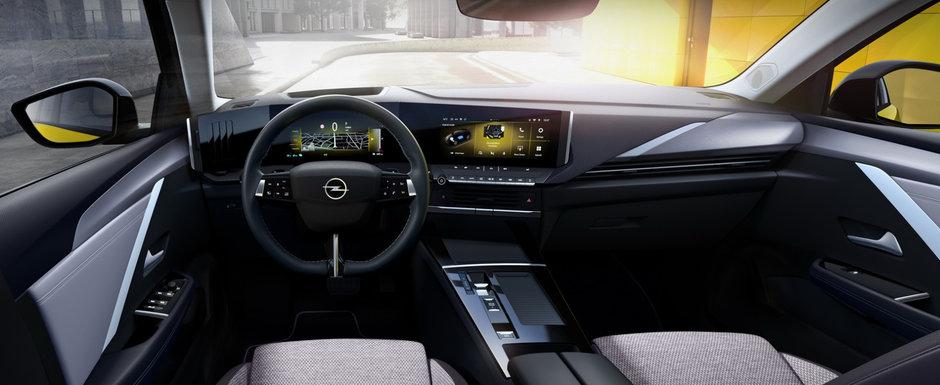 Imaginile care baga frica in sefii Volkswagen. Opel prezinta oficial noul Astra