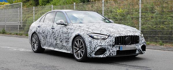 Imaginile care fac BMW sa tremure de frica. Masina cu motor de 2.0 litri si 653 CP, surprinsa in teste pe strazile Germaniei