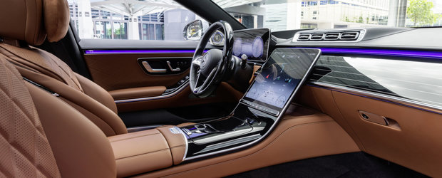 Imaginile care fac BMW Seria 7 si Audi A8 sa tremure de frica. Mercedes prezinta oficial cea mai noua generatie a limuzinei S-Class