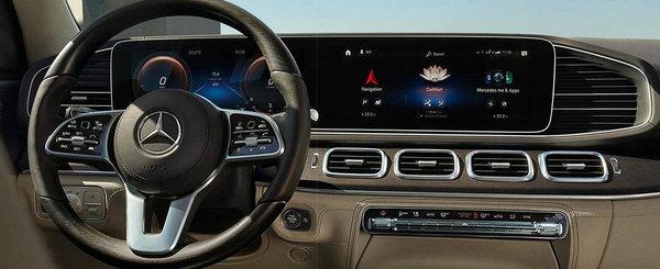 Imaginile care le dau fiori bavarezilor. Noua masina de la Mercedes vine sa dea BMW X7 jos de pe tron