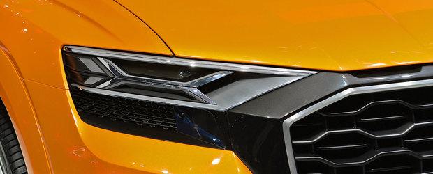 Imaginile care le dau fiori sefilor BMW. Cum a fost pozat recent noul Audi Q8