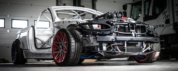 Imaginile care te vor lasa fara cuvinte. ASA arata cea mai nebuna masina de drifturi din Europa