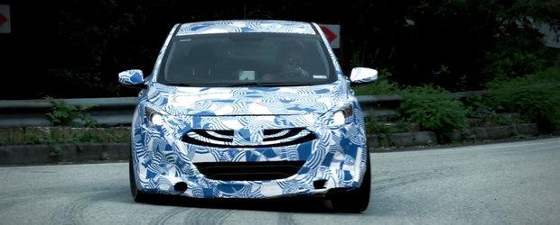 Imaginile cu care Hyundai vrea sa bage frica in Volkswagen-ul Golf GTI