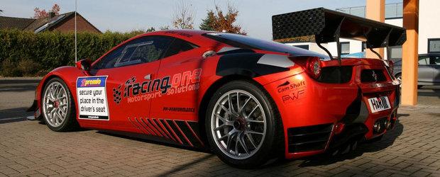 Imbunatatirea unei masini de curse: Racing One modifica modelul Ferrari 458 Challenge