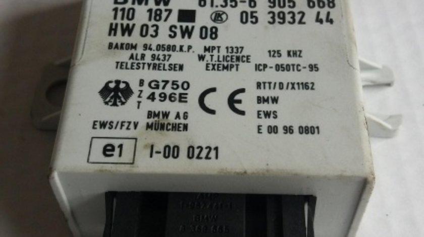 Imobilizator bmw 5 e39 1995-2004 61356905668