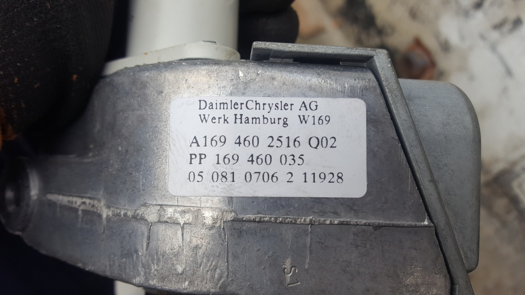 Imobilizator Mercedes A 1695452932 W169 2006