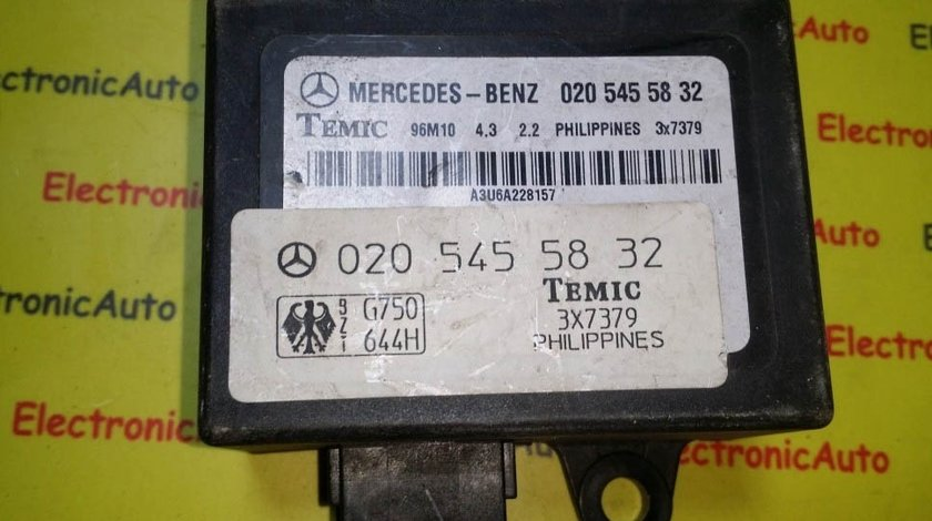 Imobilizator Mercedes-Benz 020 545 58 32