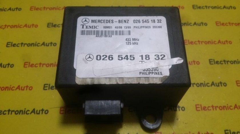 Imobilizator Mercedes Vito 0265451832, 026 545 18 32