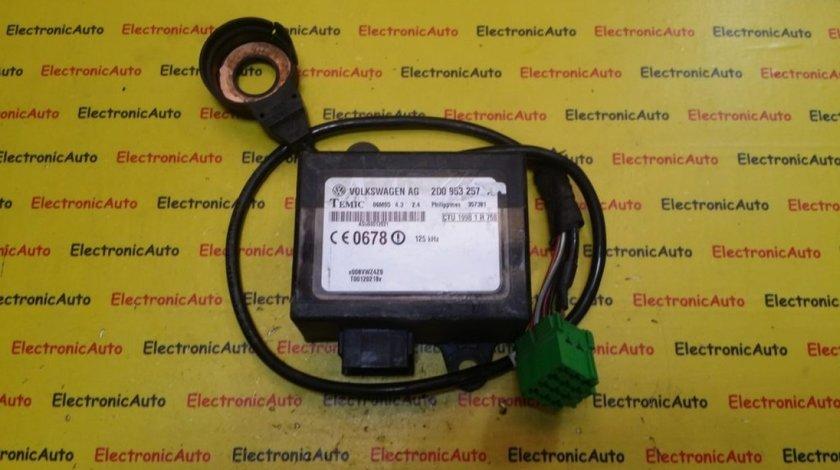 Imobilizator Plus Cititor Cheie VW, 2D0953254A, 2D0953257