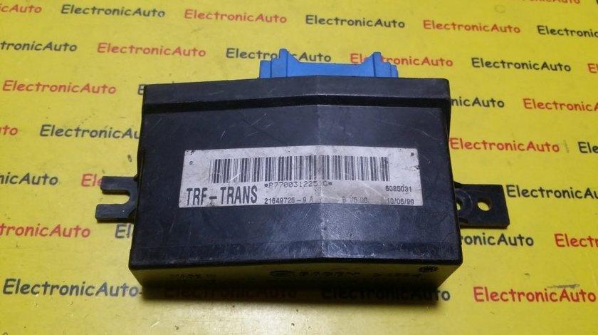 Imobilizator Renault Kangoo P7700312251G, 216497269A